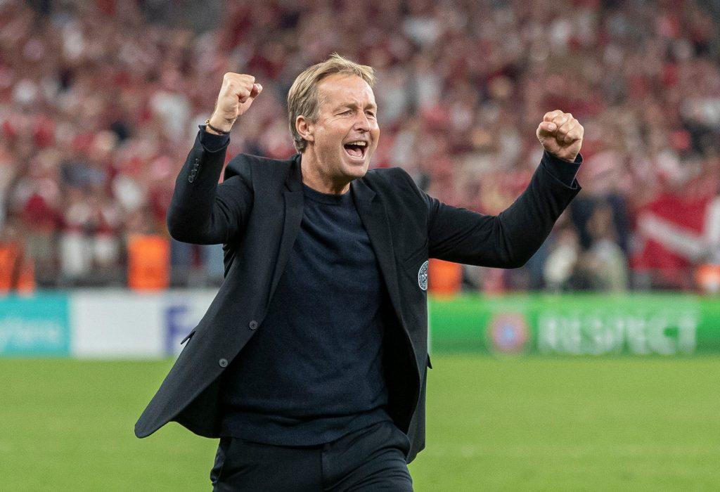 [DK=20210907: Cheftræner Kasper Hjulmand, Danmark] [UK=20210907: Coach Kasper Hjulmand, Denmark]